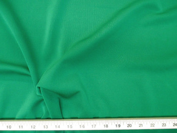 Discount Fabric Polyester Lycra /Spandex 4 way Super Stretch Grass Green 709LY