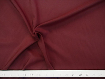 Discount Fabric Pongee Lining Material 62 inches wide Burgundy 19P