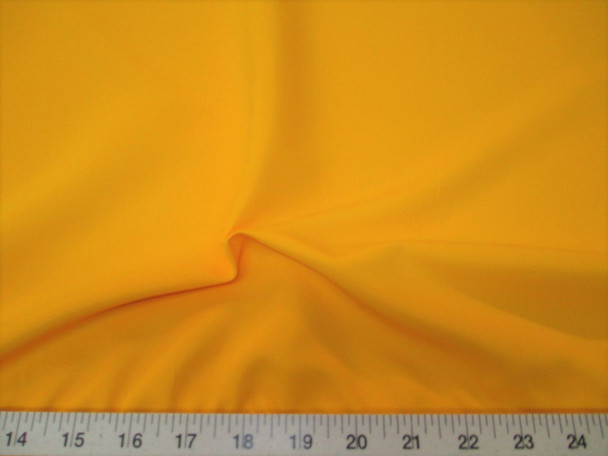 Discount Fabric Challis Apparel Top Weight Yellow Soft and Flowing 20CH