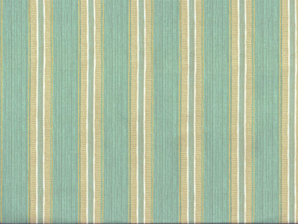 Discount Fabric Richloom Upholstery Drapery Sateen Slim Seamist Mint Stripe 23OO