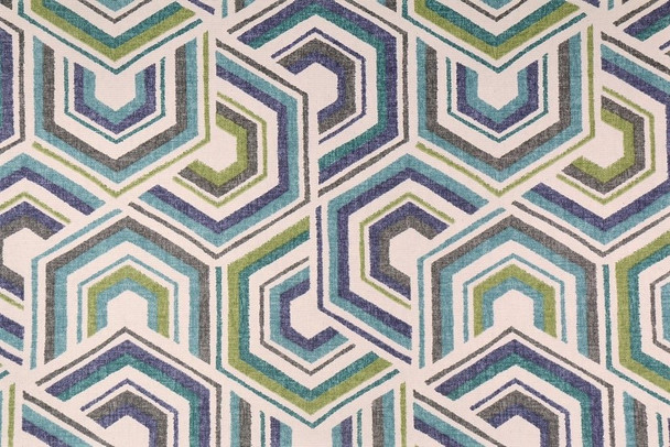 Discount Fabric Richloom Upholstery Drapery Canaan Meadow Geometric  22QQ