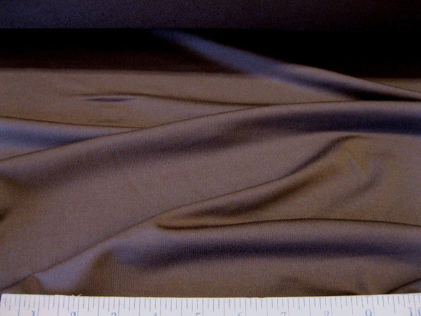 Discount Fabric Polyester Lycra/Spandex 4 way Super Stretch Brown 956LY