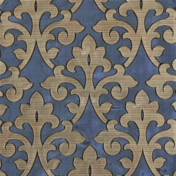 Fabric Robert Allen Beacon Hill Harkness Gilded 100% Silk Sheer Drapery 13II