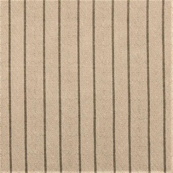 Fabric Robert Allen Beacon Hill Dauphin Stripe Sisal Linen Upholstery 42*J