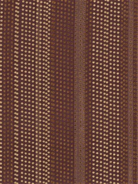 Fabric Robert Allen Beacon Hill Dotted Stripes Blackbery 100% Silk Drapery 21*J
