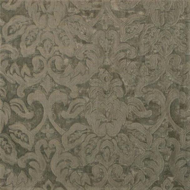 Fabric Robert Allen Beacon Hill Garden Mist Fog 100% Silk Sheer Drapery 10HH