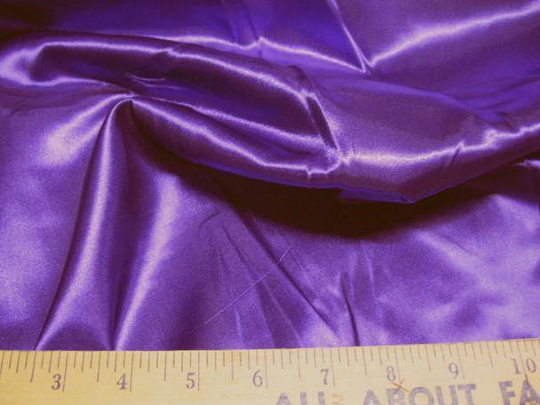 Discount Fabric Satin Taffeta Purple 65 inches wide 21SA