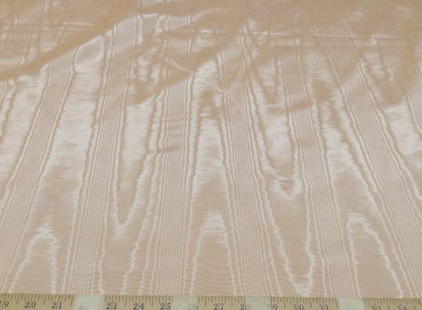 Discount Fabric Moire` Bengaline Faille Light Dusty Peach 201MR