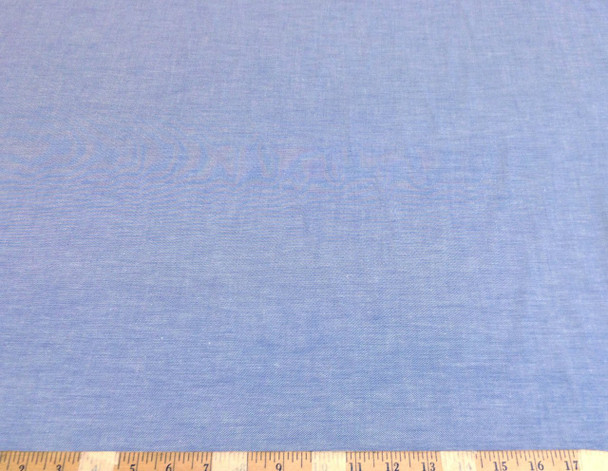 Discount Fabric Cotton Chambray Apparel Blue 102CH