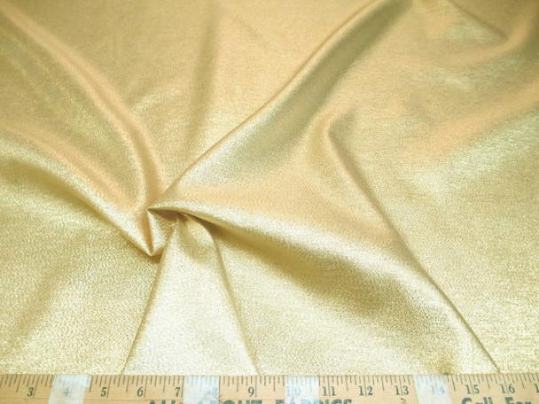 Discount Fabric Allure Metallic Gold Thread Lame Costume Holiday Decor 01LA