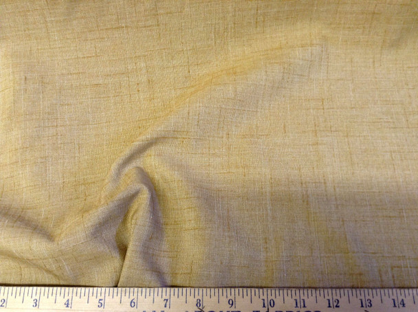 Discount Tablecloth Fabric Linen Blend Mottled Brown 09DR