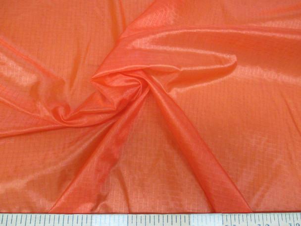 Discount Fabric Ripstop Rip Stop Nylon Water Resistant Orange 41RS