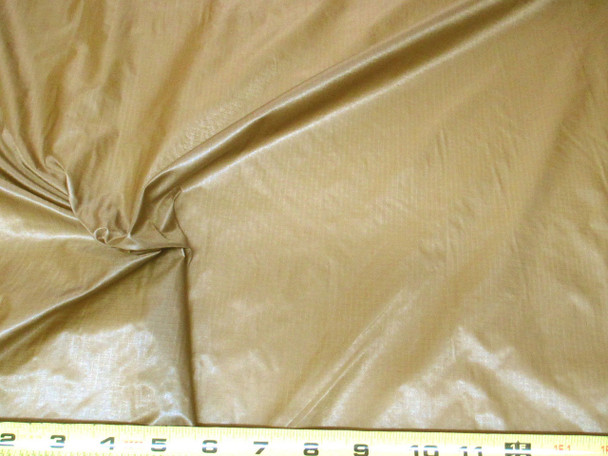 Discount Fabric Ripstop Rip Stop Nylon Water Resistant Brown 18RS
