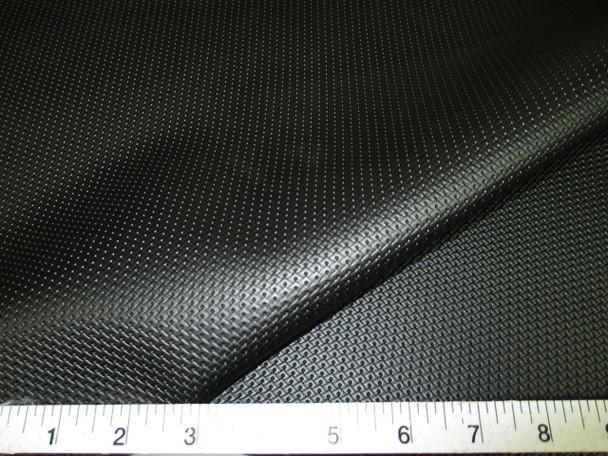 Discount Fabric Marine Vinyl Outdoor Upholstery Black Pantera Diamond 11MA
