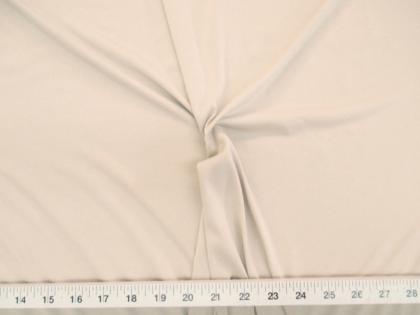 Discount Fabric Light Weight Polyester Lycra /Spandex 4 way stretch Nude 787LY