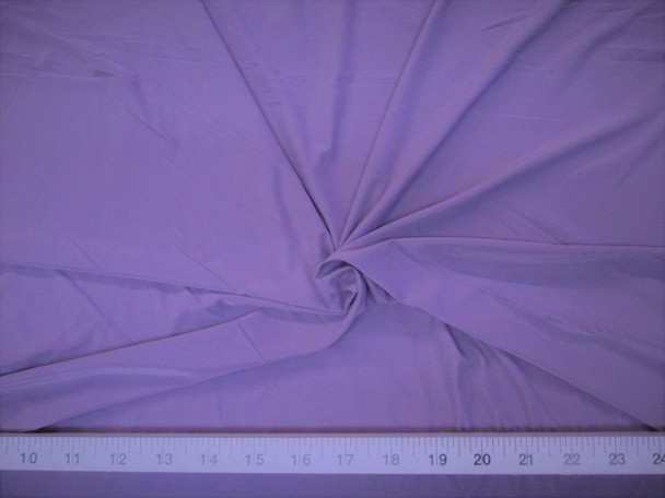 Discount Fabric Light Weight Lycra /Spandex 4 way stretch Lavender Purple 701LY