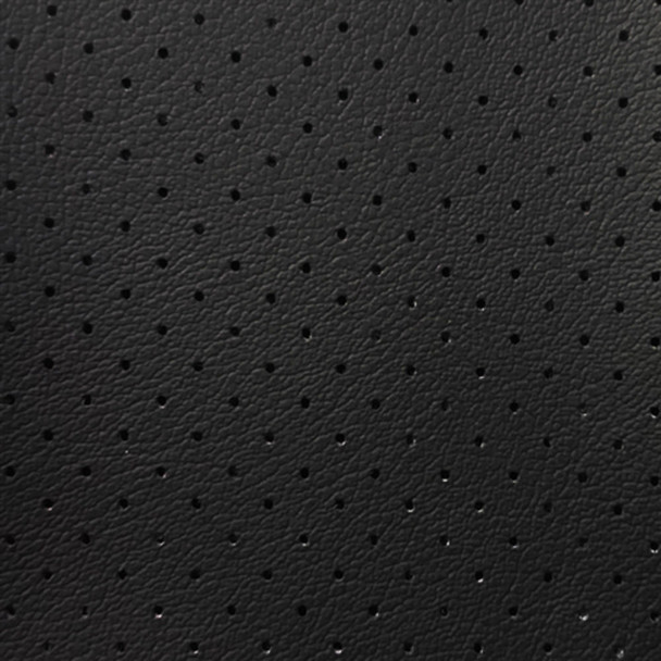 Discount Fabric Marine Vinyl Outdoor Upholstery Black Perforated 20MA