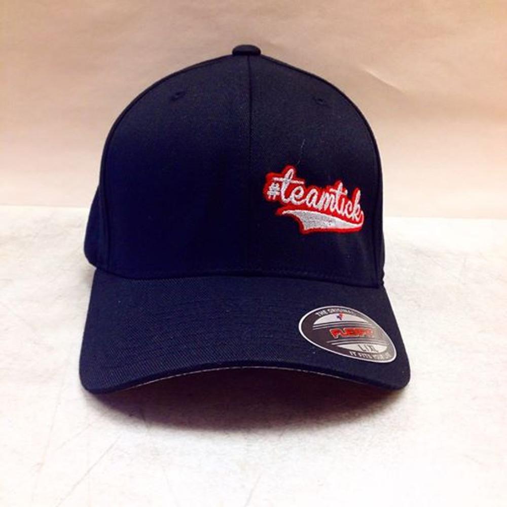 Official #TeamTick Flexfit Hat, Curved Bill