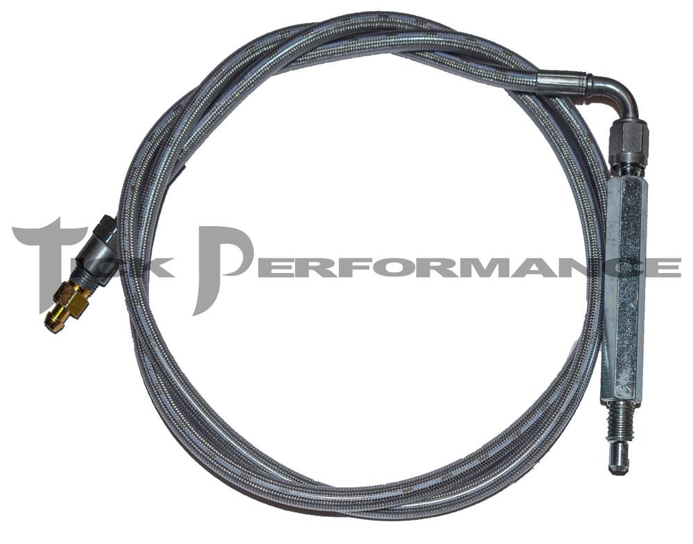 Tick Performance QUICK Install Remote Clutch SPEED Bleeder Line for 1998-02 Camaro & Firebird LS1, 2004-06 Pontiac GTO (QITPSBL01)