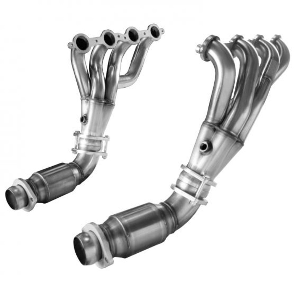 "Kooks 1-7/8"" x 3"" Shorty Headers with Catted Connection Pipes for 2008-2009 Pontiac G8 GT & GXP #24201420"