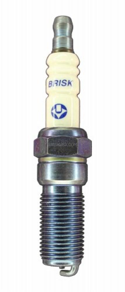 Brisk GenV Spark Plug (RR12S) Silver Racing Plug (NGK 8)