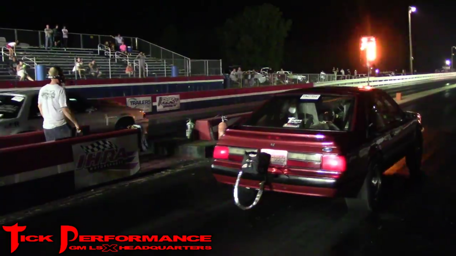 THROWBACK!!!! RON BURGUNDY WINNING STREET CAR SHOOTOUT AT STREET OUTLAW FARMINGTON EVENT!!!!!!