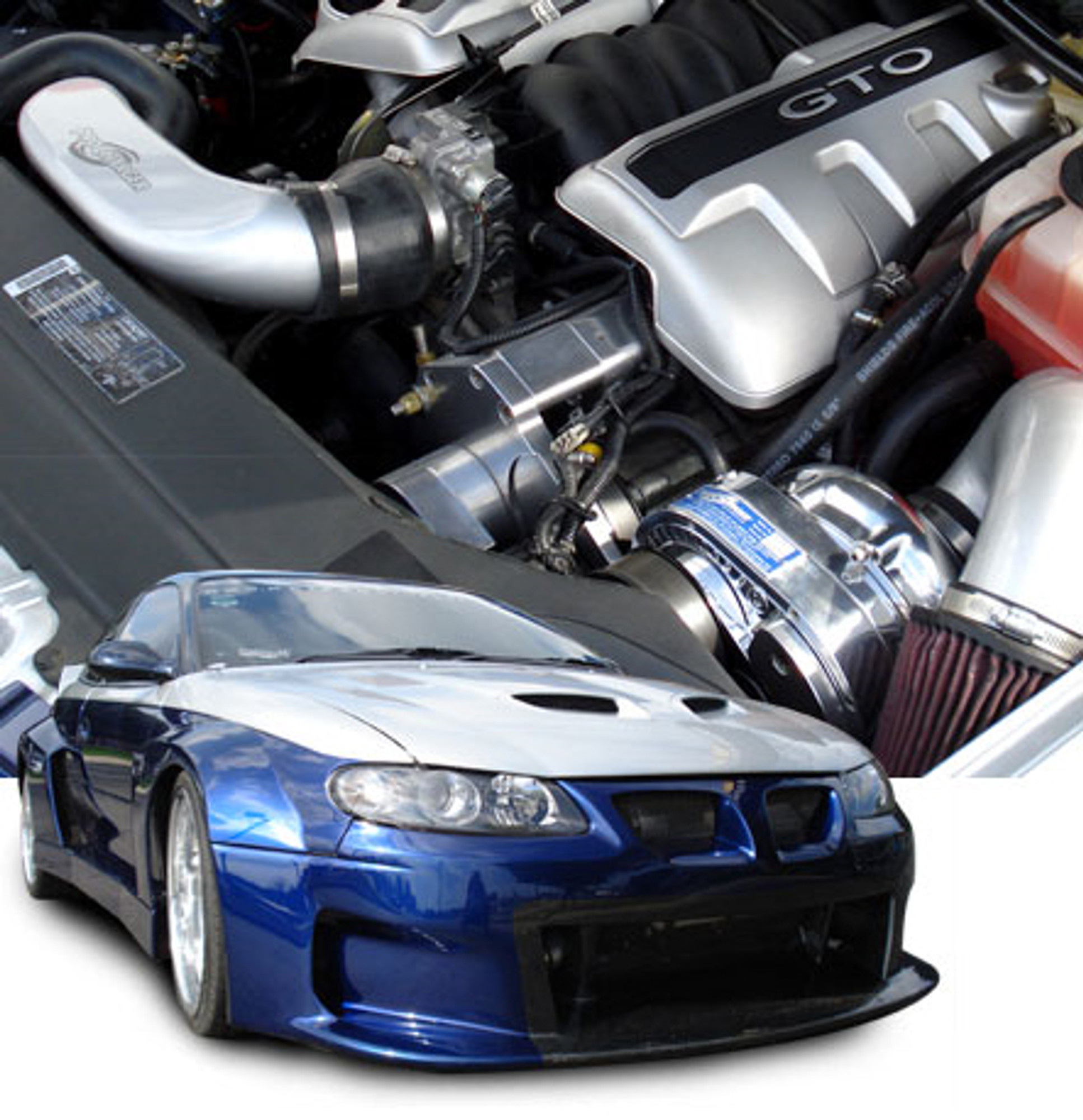 ProCharger HO Intercooled Supercharger 2004 Pontiac GTO