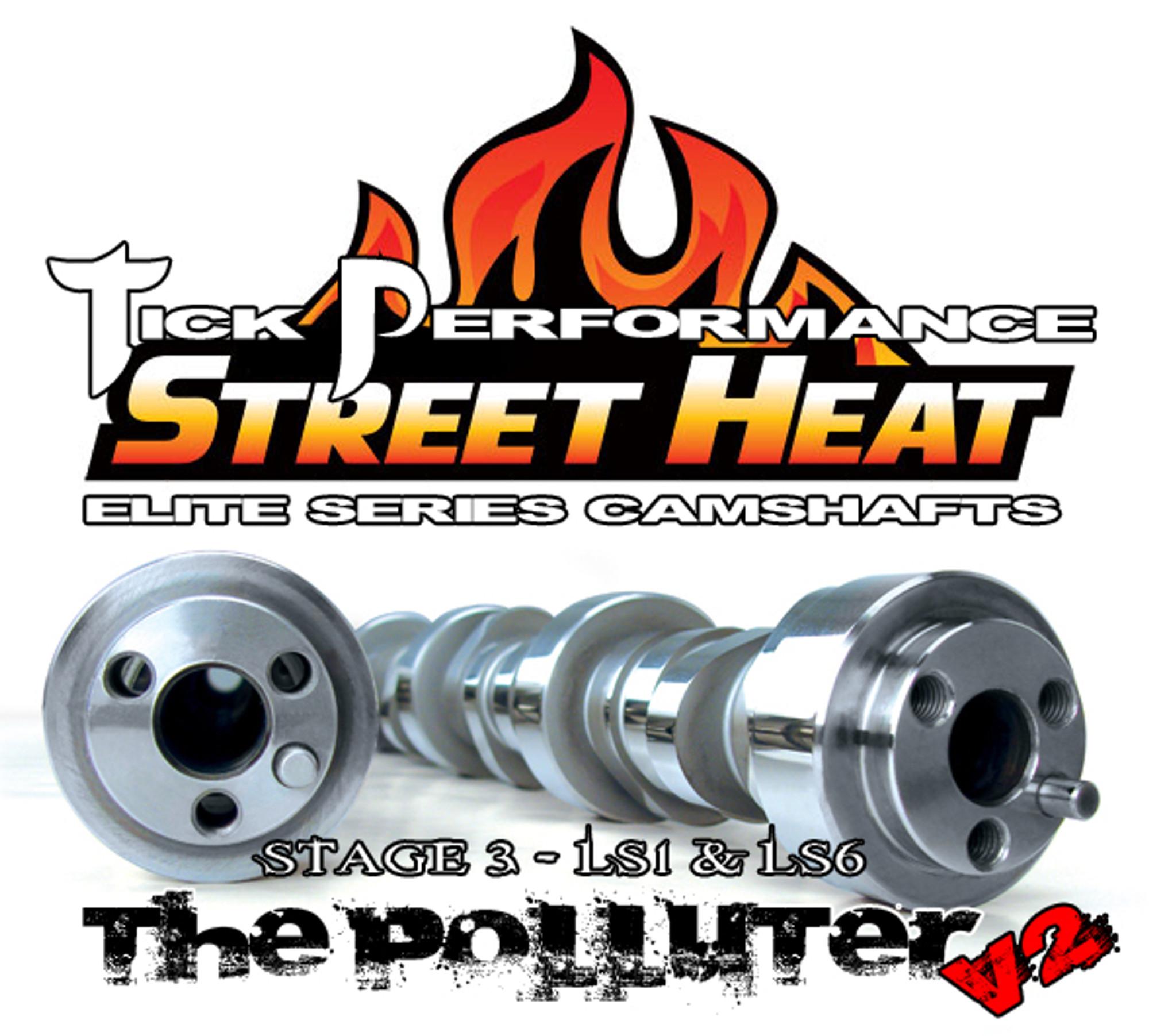 Corvette Ls6 Camshaft: Tick Performance Street Heat Stage 3 POLLUTER V2 Camshaft