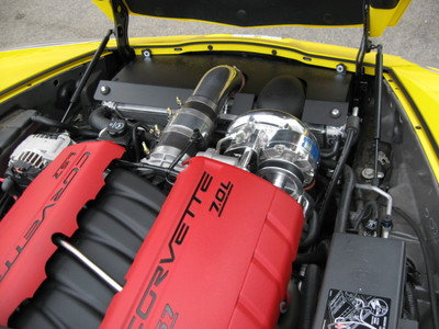 A&A Corvette Supercharger Installed & Tuned Package for 2006-2013 Corvette Z06 (LS7)