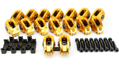 Comp Cams Ultra-Gold 2122 Rocker Arms with 8mm Stud, 1.82 Ratio for LS1, LS2, LS4, LS6