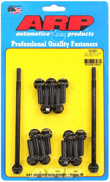 ARP Hex Oil Pan Bolt Kit for LS Engines, Part #134-6901