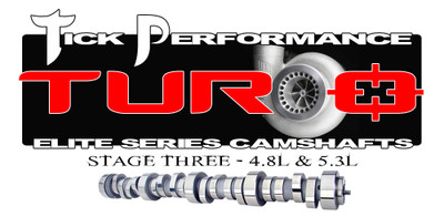 Tick Performance Turbo Stage 3 Camshaft for 4.8L & 5.3L Engines