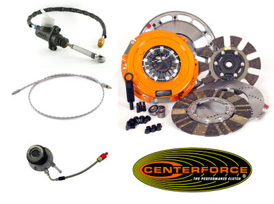 Tick Performance & Centerforce DYAD Complete Clutch & Hydraulic Upgrade Package for 1997-04 Corvette & Z06