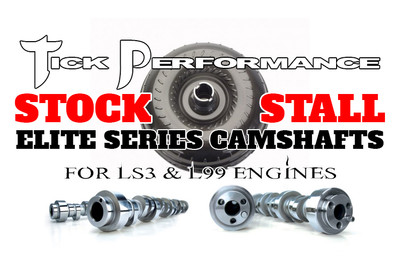 Tick Performance STOCK Converter Camshaft for LS3 & L99 Engines