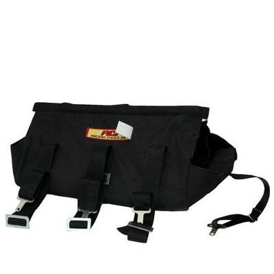 RCI Universal Engine Diaper with Pad, Black Nylon, SFI 7.2 Approved, Part #7809A