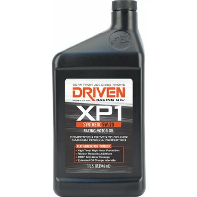 Joe Gibbs DRIVEN XP1 - 5w-20 Quart, Part #JGR-00006