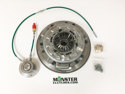 Monster LT1-S Organic Triple Disc Clutch and Flywheel Package (Torque Capacity: 1150RWTQ)