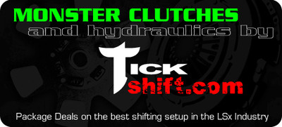 Tick & Monster Complete Clutch & Hydraulic Upgrade Package for 2005-13 Corvette C6 & Z06