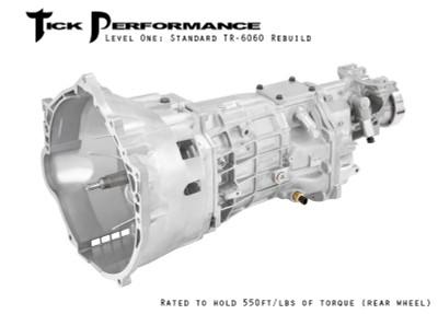 Tick Performance Level 1 Standard TR-6060 Rebuild (550RWTQ) for 2010+ Camaro SS