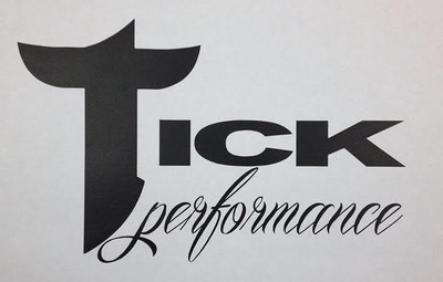 Tick Performance Square Decal