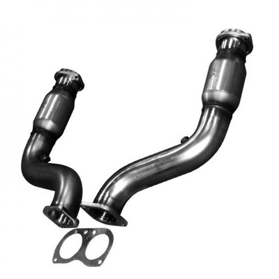"""Kooks 3"""" x OEM Catted Connection Pipes for 2005-2006 Pontiac GTO #24123200"""