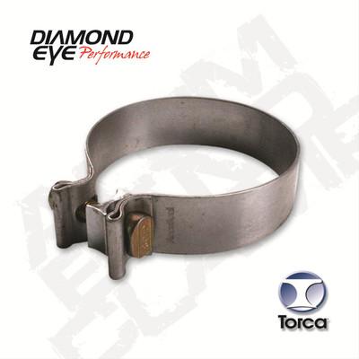 Diamond Eye Performance Exhaust Band Clamp 2.500 in. Diameter