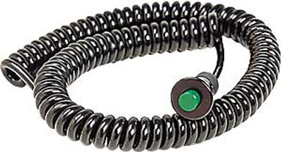B&M Remote Button with Spiral Cord