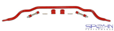 SPOHN Front Sway Bar - Solid 32mm 4140 Chrome Moly