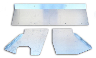 A&A Corvette Sheet Metal Kit, Passenger Side Intercooler Inlet (1997-2004)