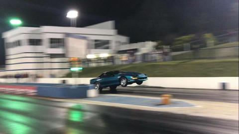 Josh Burkhart's Turbo Camaro at King of the Streets!!!!