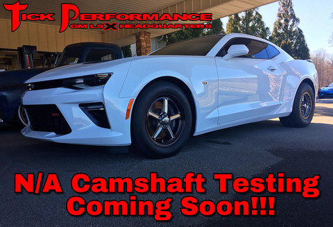 NA Camshaft Testing Coming Soon for New Gen LTX Camaros!!!!