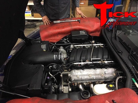 Bolt Ons Installed on this C6 Z06!!!!!!!