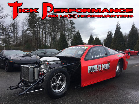 Mark Payne's Twin Turbo Top Sportsman Cavalier Build