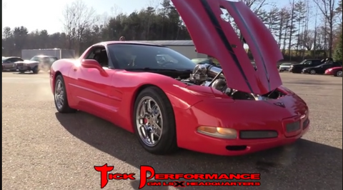 """The Pipe"" Massive Procharged C5!!!!!"